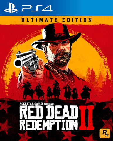 PS4 RED DEAD REDEMPTION 2 [ULTIMATE EDITION]