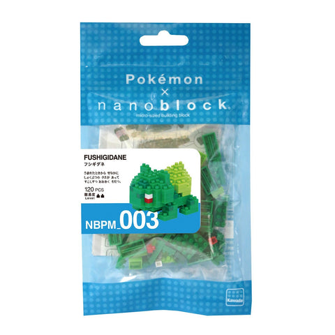 nanoblocks Nbpm003 Nb - Bulbasaur - Pokemon Building Kit