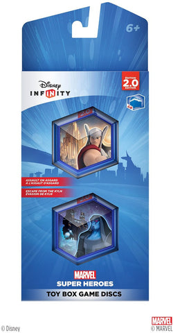 Disney INFINITY: Marvel Super Heroes (2.0 Edition) Toy Box Game Discs
