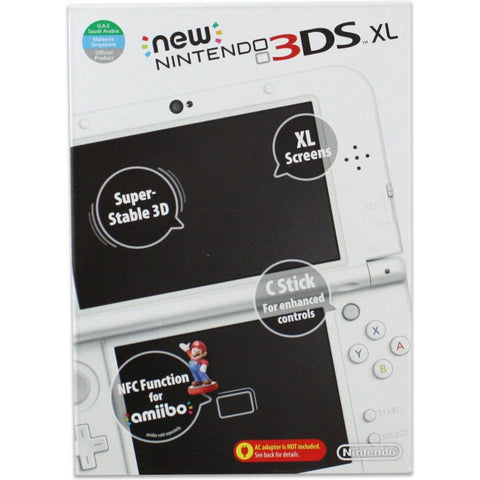 New 3DS XL Pearl White Asia Ver