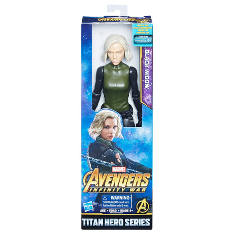 Hasbro Marvel Avengers Infinity War Titan Hero Power Black Widow
