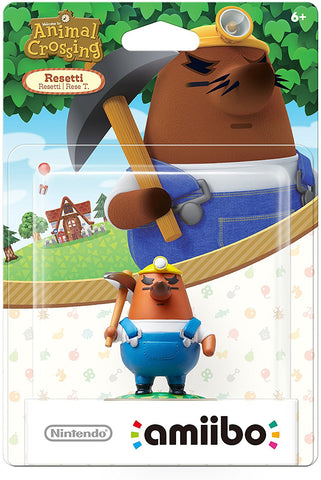 Amiibo Animal Crossing Resetti