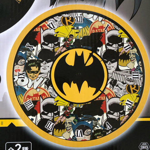 DC Comics Batman Analog Clock - Bat Logo