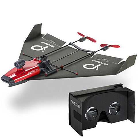 PowerUp FPV Live Streaming Camera Paper Airplane Drone