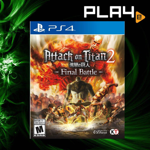 PS4 Attack on Titan 2: Final Battle (R1)