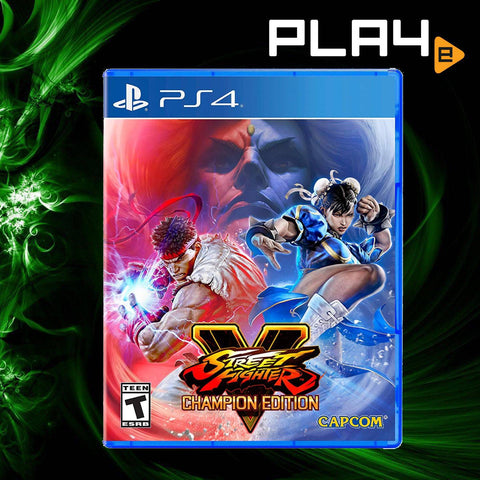 PS4 Street Fighter V: Champion Edition (US)