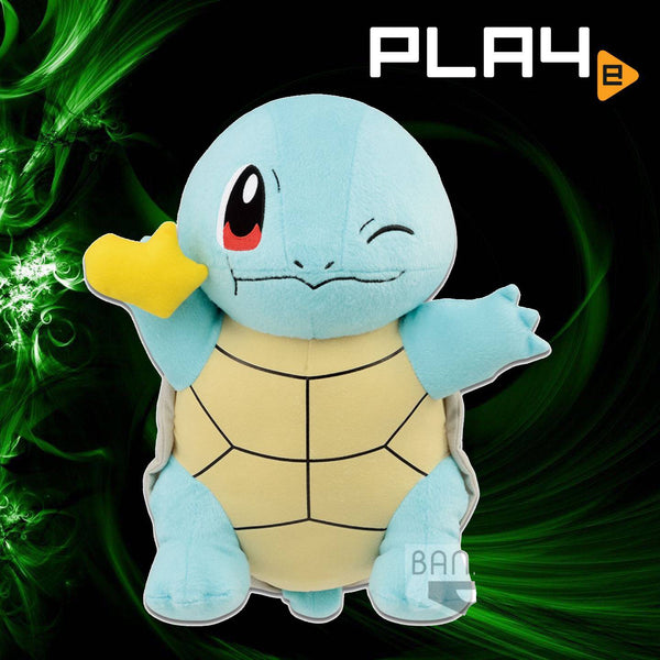"Pokemon Mogumogu 13"" Plush Squirtle (Y) Poke Bean"