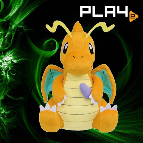 "Pokemon Mogumogu 13"" Plush Dragonite (P) Poke Bean"