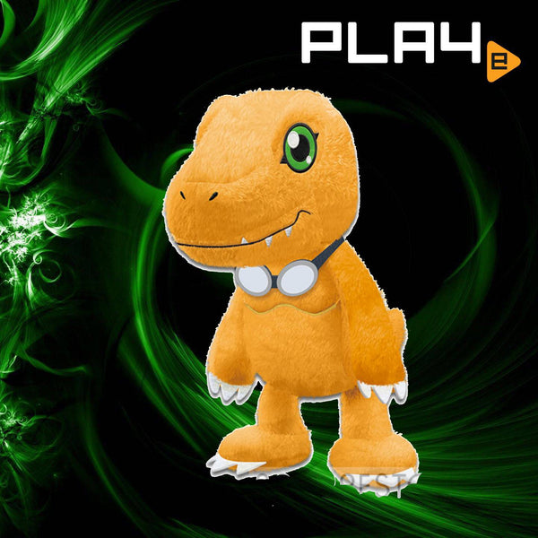 "Digimon Last Evolution Agumon with Goggle 12"" Plush"