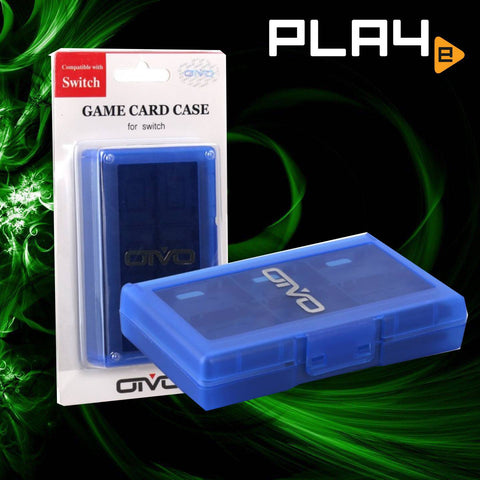 Nintendo Switch OIVO 24 Game Case Blue