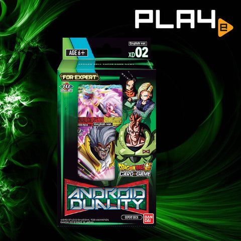 Bandai Dragon Ball DB8  Android Duality XD02 Deck