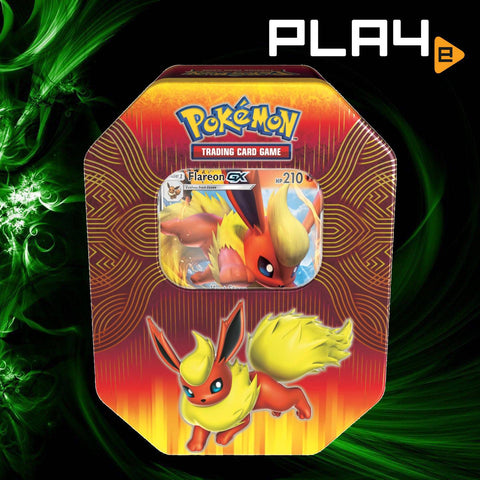Pokemon Elemental Power Tin - Flareon GX