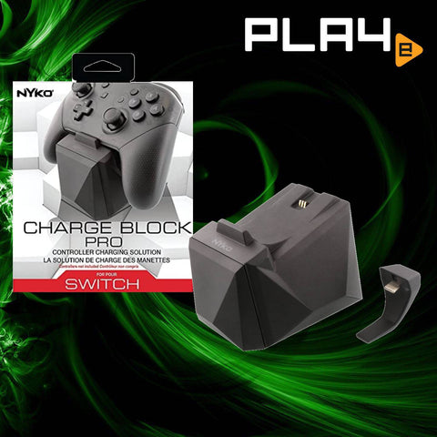 Nintendo Switch Nyko Charge Block For Pro Controller