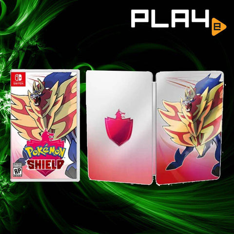 Nintendo Switch Pokemon Shield + Steel Case (Local)