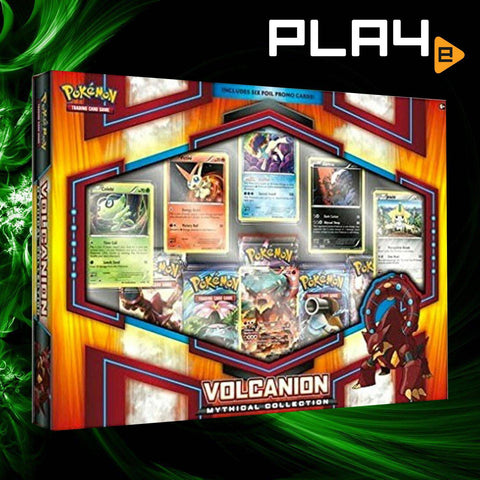 Pokemon Volcanion Mythical Collection Box