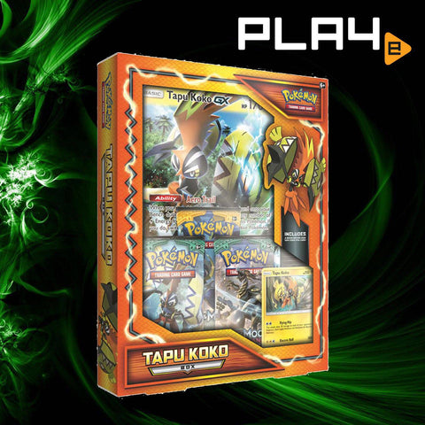Pokemon TCG Tapu Koko GX Box