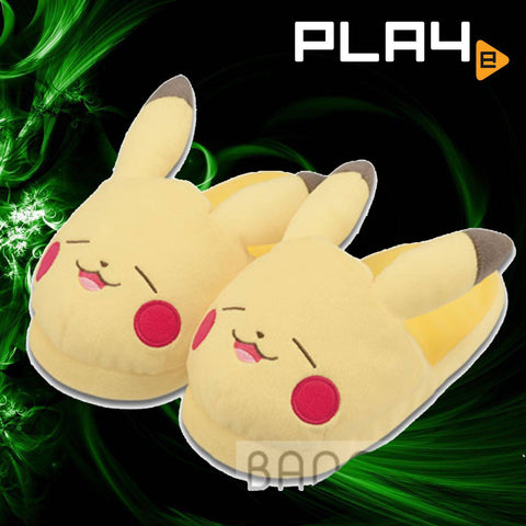Pokemon Life With Pikachu Slippers - Eyes Close