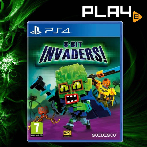 PS4 8-Bit Invaders! (R2)