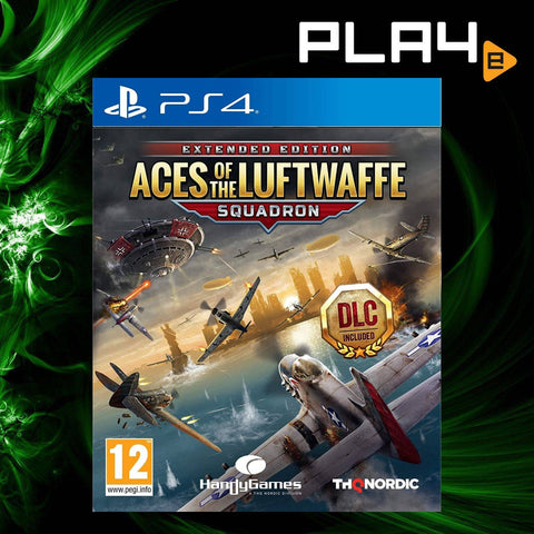 PS4 Aces of the Luftwaffe: Squadron (R2)