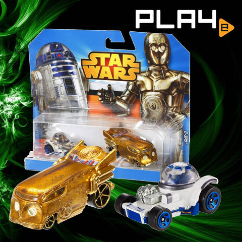Star Wars Hot Wheels C-3PO and R2-D2