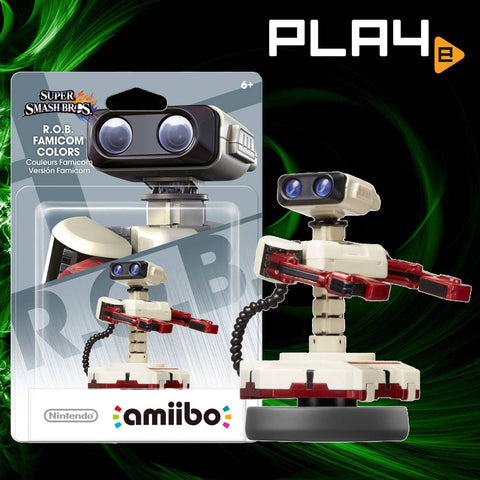 Amiibo Super Smash Bros R.O.B. Famicom Colors