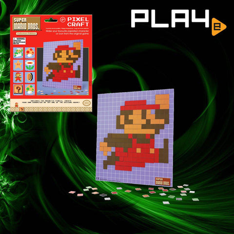 Super Mario Bros Pixel Craft