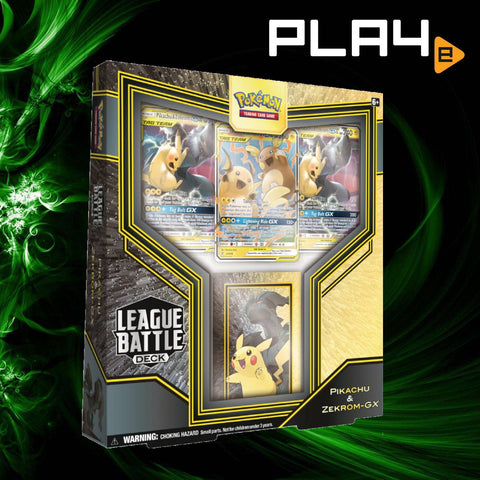 Pokemon League Battle Deck - Pikachu & Zekrom