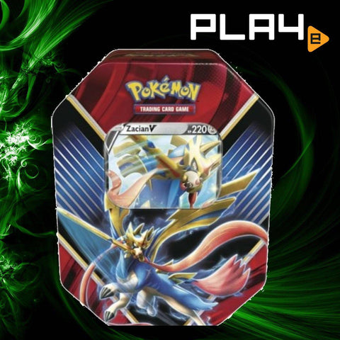 Pokemon Legends of Galar Tin - Zacian V