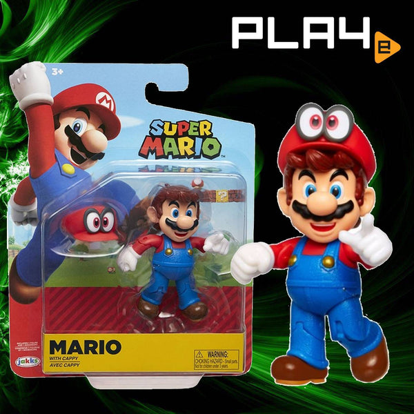 "World of Nintendo 4"" FIG W19 Mario with Cappy"