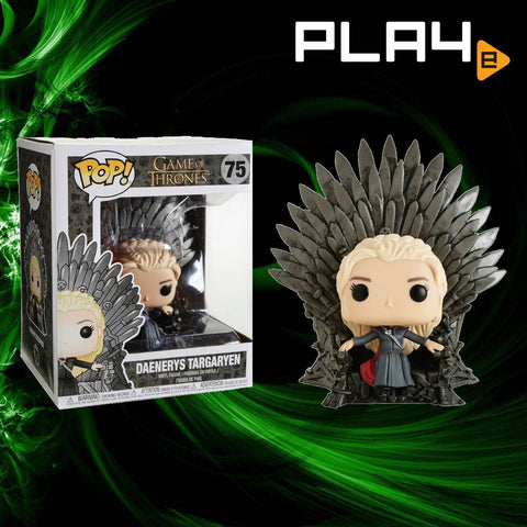 Funko POP! (75) Game of Thrones Daenerys on Iron Throne