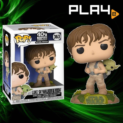 Funko POP! (363) Star Wars ESB Luke Skywalker & Yoda