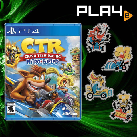 PS4 Crash Team Racing: Nitro-Fueled & Pin Bundle (US)
