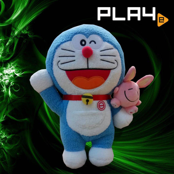 "Doraemon 13"" Left Hand Hold Close Eye Rabbit"
