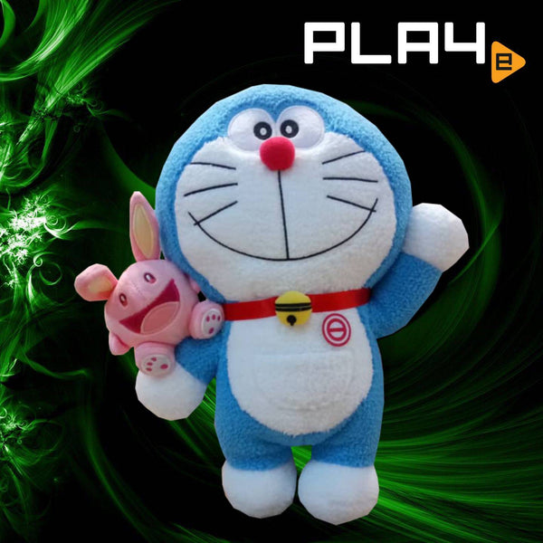 "Doraemon 13"" Left Hand Hold Open Eye Rabbit"