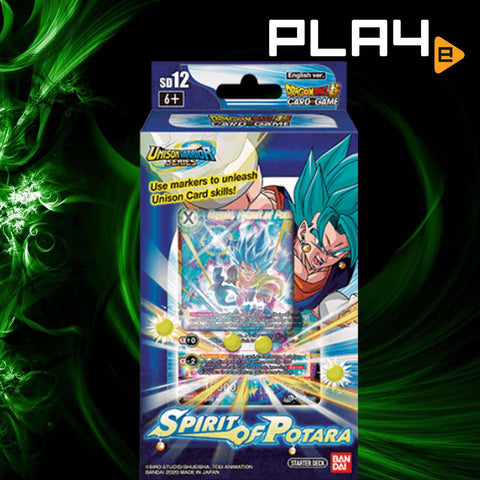 Bandai DragonBall DB10 Spirit of Potara SD12 Deck