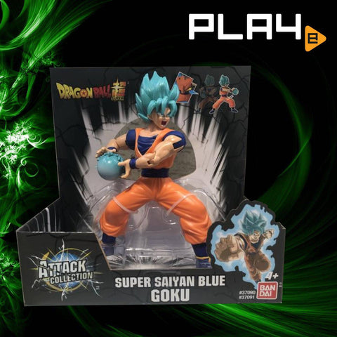 Dragon BallZ Attack Collection SS Blue Goku