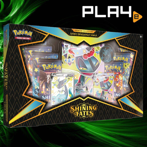 Pokemon Shiny Dragapult Premium Box