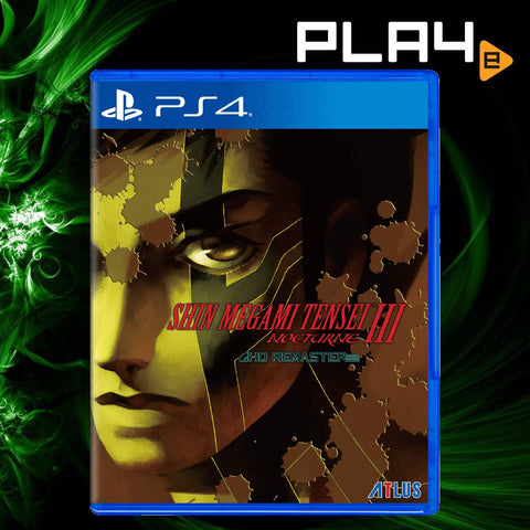 PS4 Shin Megami Tensei III: Nocturne HD Remaster (English) (Pre-Order)