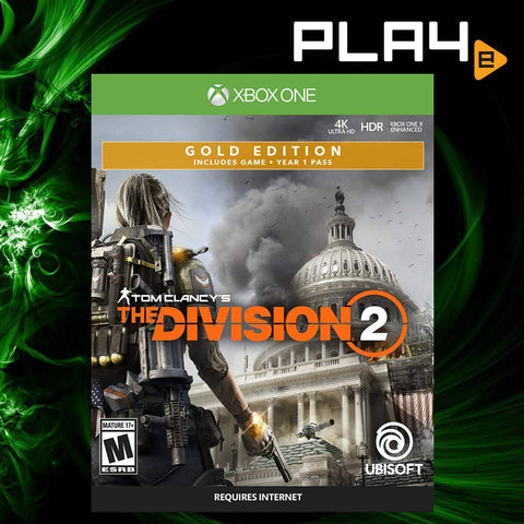 XBox One Tom Clancy's The Division 2 Gold Steelbook Edition