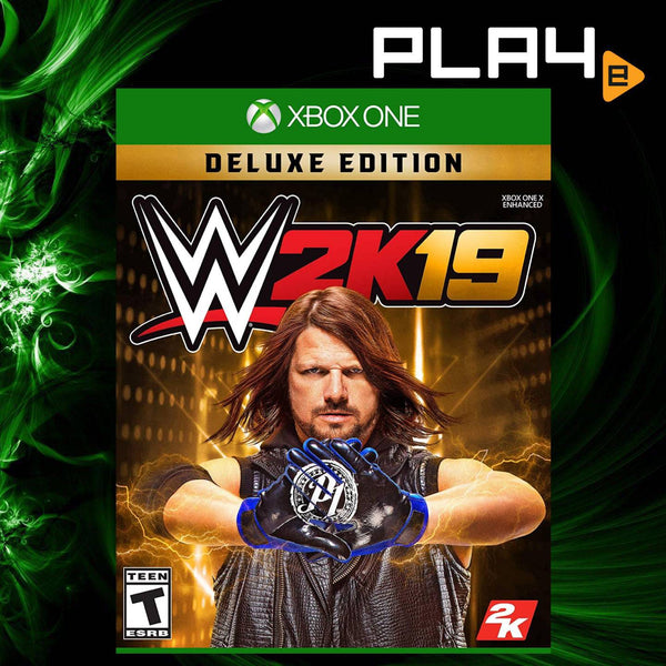 XBOX ONE WWE 2K19 Deluxe Edition