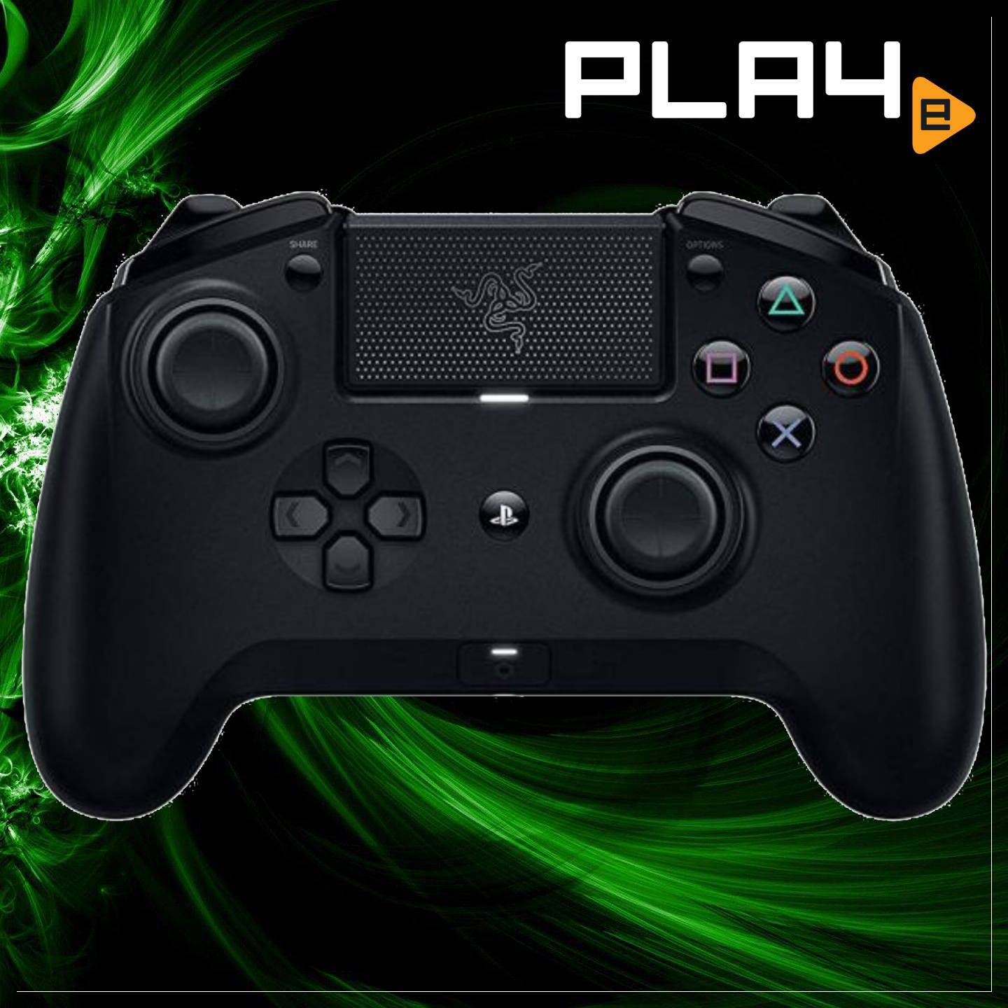 Razer Raiju Tournament Edition Gaming Controller for PS4 | PLAYe