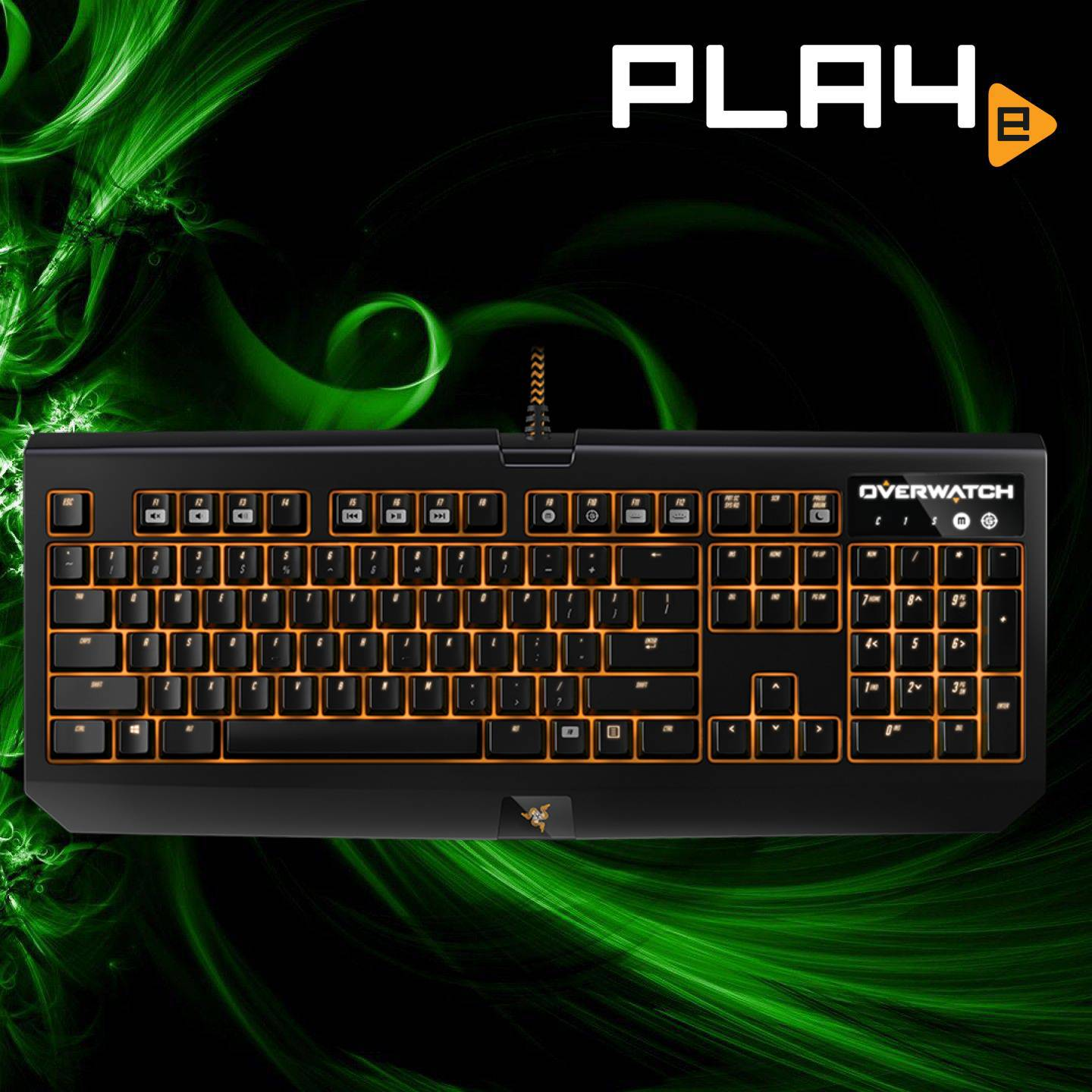 4aaf3c90cf7 Razer Overwatch BlackWidow Chroma Keyboard | PLAYe