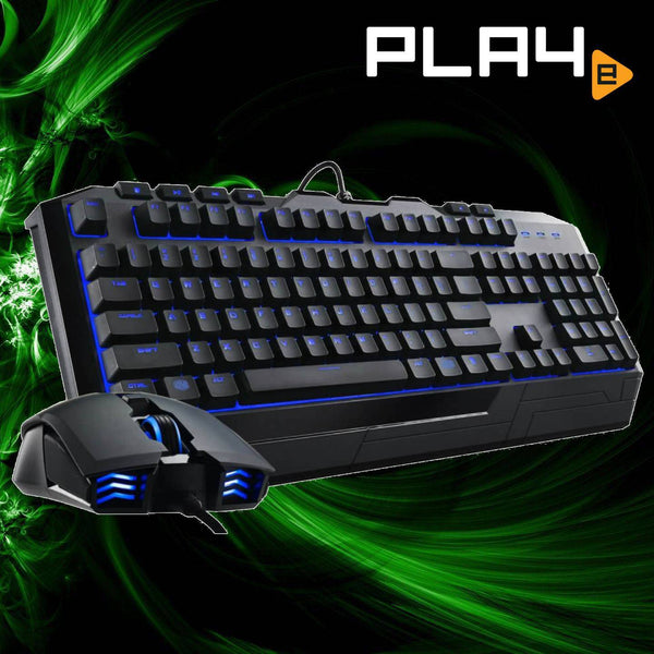 Cooler Master Devastator II - Blue Keyboard & Mouse