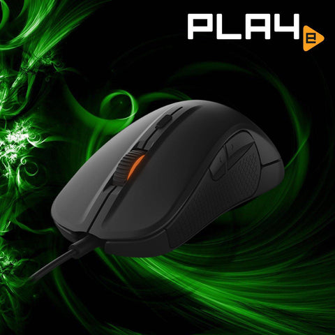 SteelSeries Rival 300 Gaming Mouse - Black