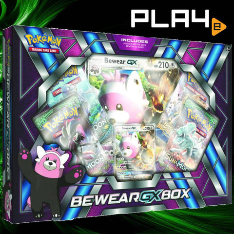 Pokemon TCG Bewear GX Box