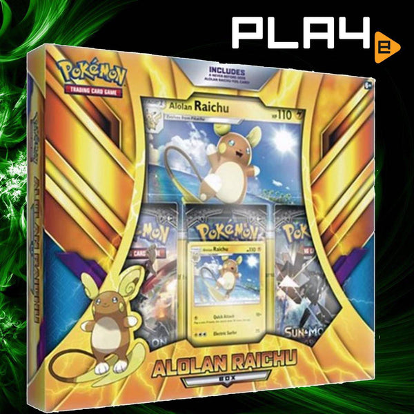 Pokemon TCG Alolan Raichu Box