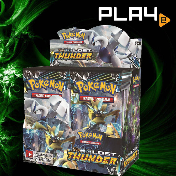 Pokemon SM8 Lost Thunder Booster