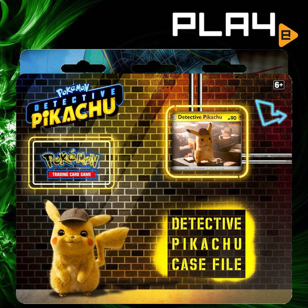 Pokemon Detective Pikachu Case File Blister