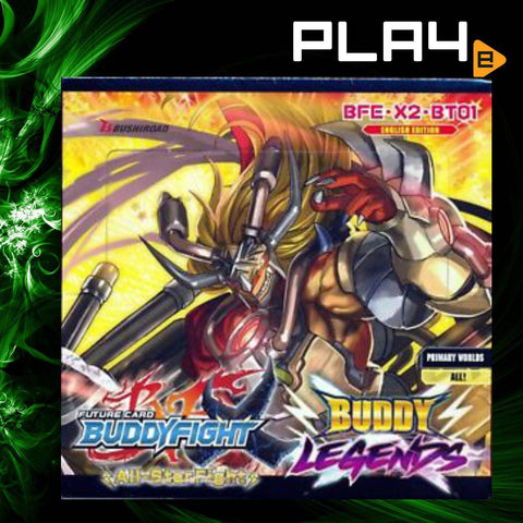 Buddyfight Buddy Legends Booster