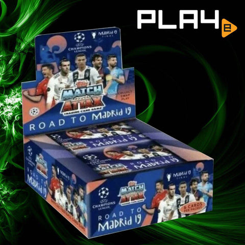 TOPPS UCLMA Road to Madrid 2019 Booster Pack
